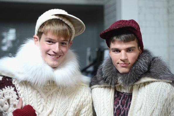 Eamonn M「Sibling: Backstage - London Collections: Men AW14」:写真・画像(15)[壁紙.com]