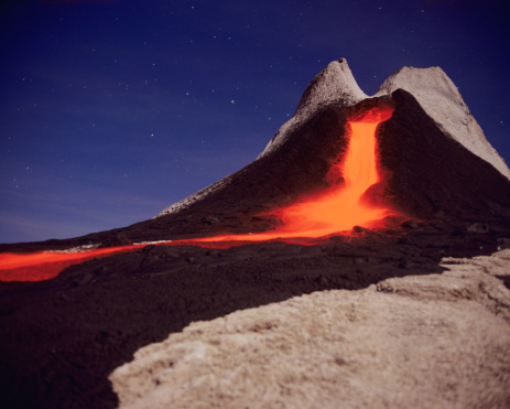 Lava「Tanzania, volcano ol doinyo Lengai」:スマホ壁紙(1)