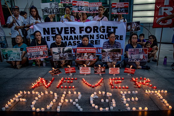 Mass Murder「Filipinos Marks 30 Years Since The Tiananmen Massacre」:写真・画像(18)[壁紙.com]