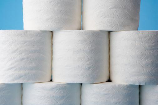 Pyramid Shape「Stack of bathroom tissue rolls」:スマホ壁紙(11)