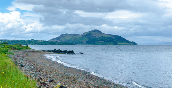 Island of Arran「Coastal landscape along Arran Coastal Way, Isle of Arran, Scotland, United Kingdom」:スマホ壁紙(16)
