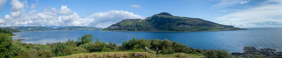 Island of Arran「Coastal landscape along Arran Coastal Way, Isle of Arran, Scotland, United Kingdom」:スマホ壁紙(17)