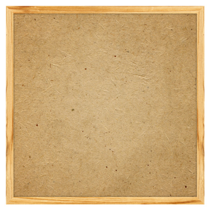 Wooden Post「Blank Corkboard textured (Clipping path) isolated on white background」:スマホ壁紙(13)
