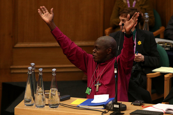 John Sentamu「Members Of The Church Of England Synod Vote On Bishop's Gay Marriage Report」:写真・画像(3)[壁紙.com]