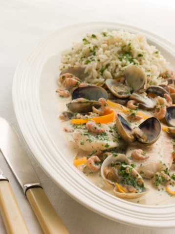 Chervil「Dover Sole 'Normande' with Herb Rice」:スマホ壁紙(12)