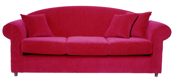 Front View「Red Sofa」:スマホ壁紙(1)