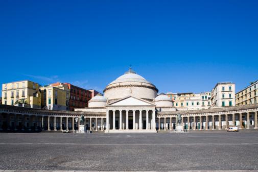 Town Square「Piazza del Plebiscito, Napoli」:スマホ壁紙(1)