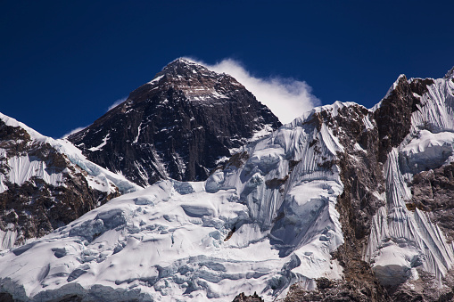 Khumbu「Mt Everest from Kala Patthar, Gorak Shep, Everest Base Camp Trek, Nepal」:スマホ壁紙(10)
