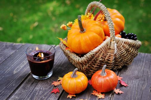 ハロウィン「秋の装飾」:スマホ壁紙(12)