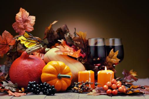 ハロウィン「秋の装飾」:スマホ壁紙(1)