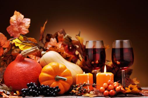 ハロウィン「秋の装飾」:スマホ壁紙(8)
