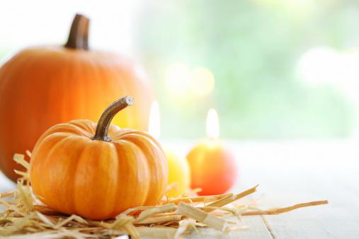 ハロウィン「秋の装飾」:スマホ壁紙(7)