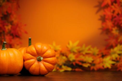 ハロウィン「秋の装飾」:スマホ壁紙(4)