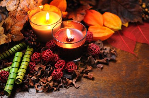かえでの葉「秋の装飾」:スマホ壁紙(15)