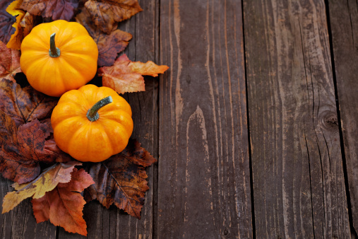 ハロウィン「秋の装飾」:スマホ壁紙(11)