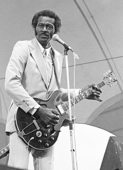 Chuck Berry - Musician「Chuck Berry, Capital Jazz, Alexandra Palace, London, 1979. Artist: Brian O'Connor.」:写真・画像(7)[壁紙.com]