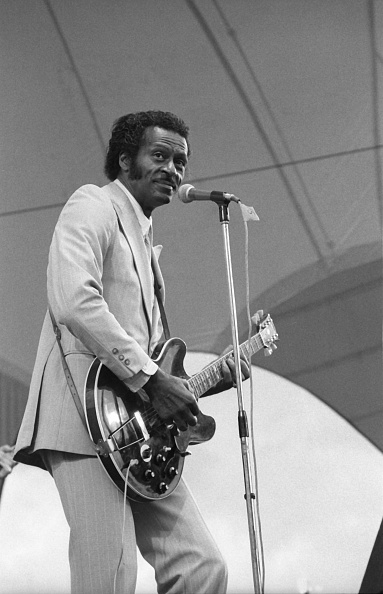 Chuck Berry - Musician「Chuck Berry, Capital Jazz , Alexandra Palace, London, 1979. Artist: Brian O'Connor.」:写真・画像(10)[壁紙.com]