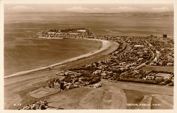 View Into Land「Troon (Aerial View)', c1930」:写真・画像(12)[壁紙.com]