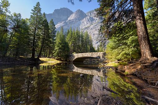 Yosemite Valley「Merced River, Yosemite National Park, California, America, USA」:スマホ壁紙(16)