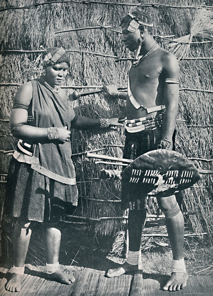 Southern Africa「A Pair Of Zulu Lovers」:写真・画像(3)[壁紙.com]