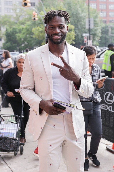 Achim Aaron Harding「Street Style - New York Fashion Week September 2018 - Day 7」:写真・画像(13)[壁紙.com]