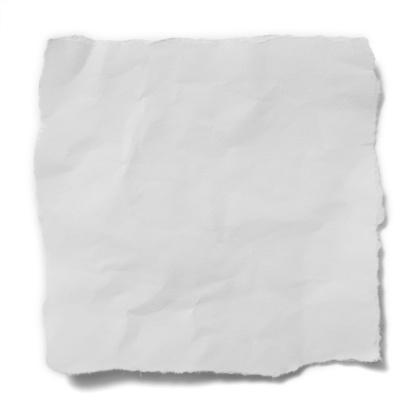 Letter - Document「torn white paper」:スマホ壁紙(19)