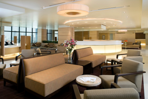 Hotel Reception「Waiting Area Interior」:スマホ壁紙(13)