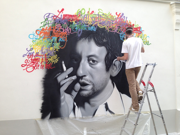 Painter - Artist「Serge Gainsbourg Street Art」:写真・画像(4)[壁紙.com]