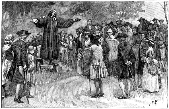 Methodist「George Whitefield preaching in the open air, (c1750) c1870.」:写真・画像(7)[壁紙.com]