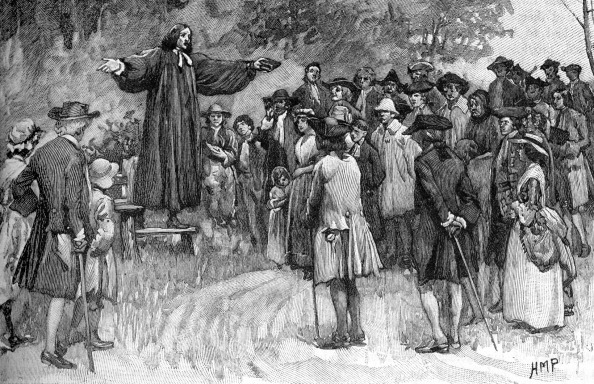 Methodist「George Whitefield preaching」:写真・画像(1)[壁紙.com]