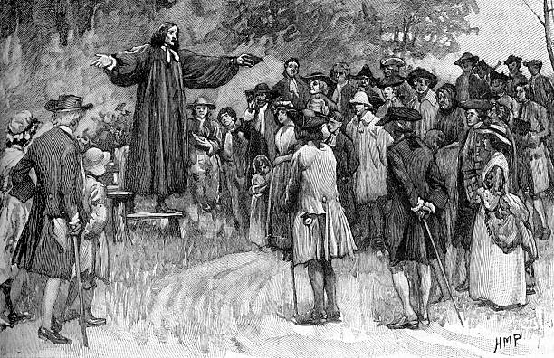 George Whitefield preaching:ニュース(壁紙.com)