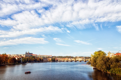 Charles Bridge「Prague, Vlatava River, Charles Bridge」:スマホ壁紙(10)