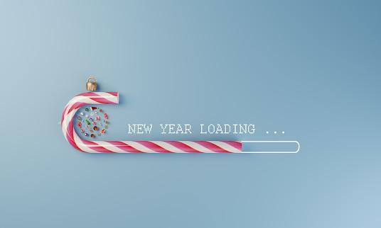 Invitation「New Year Loading」:スマホ壁紙(6)