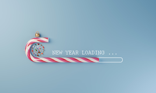 Internet「New Year Loading」:スマホ壁紙(19)