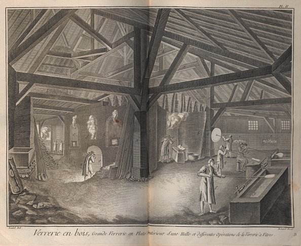 Greenhouse「Glass Making From Encyclopedie By Denis Diderot And Jean Le Rond Dalembert」:写真・画像(11)[壁紙.com]