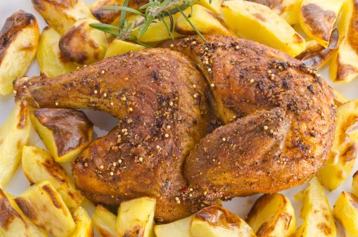 Baked Potato「Chicken roast with baked potatoes」:スマホ壁紙(15)