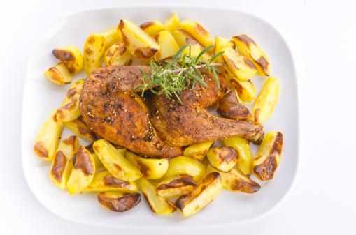 Baked Potato「Chicken roast with baked potatoes」:スマホ壁紙(9)