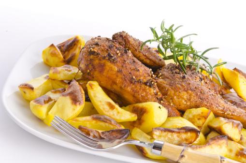 Baked Potato「Chicken roast with baked potatoes」:スマホ壁紙(8)