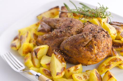 Baked Potato「Chicken roast with baked potatoes」:スマホ壁紙(19)