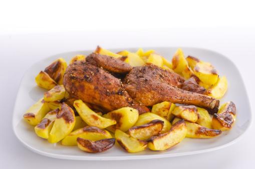 Baked Potato「Chicken roast with baked potatoes」:スマホ壁紙(12)