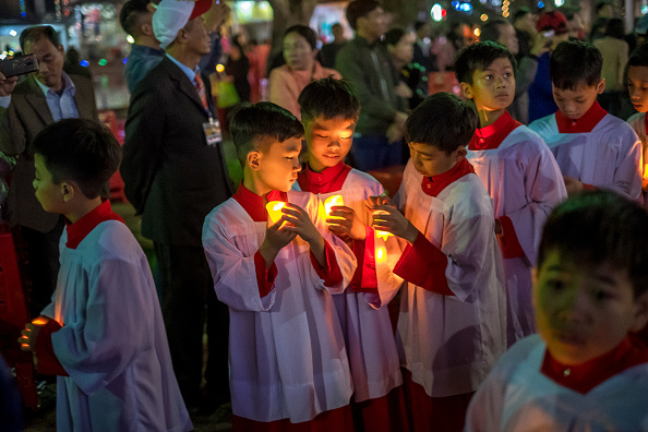 Religious Mass「Vietnamese Christians Mark Christmas」:写真・画像(0)[壁紙.com]