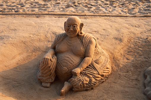Effort「Buddha Sand Sculpture」:スマホ壁紙(16)