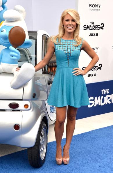 "Front View「Premiere Of Columbia Pictures' ""Smurfs 2"" - Arrivals」:写真・画像(7)[壁紙.com]"
