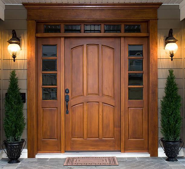 Beautiful Wooden Door:スマホ壁紙(壁紙.com)