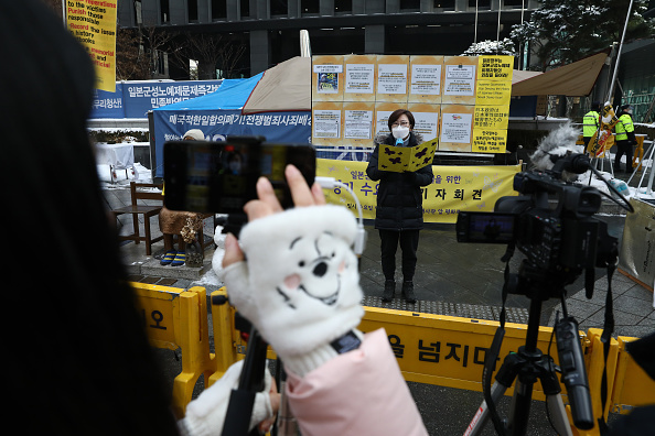 "Lee Na「Protesters Demand Japan Compensate So-called ""Comfort Women""」:写真・画像(15)[壁紙.com]"