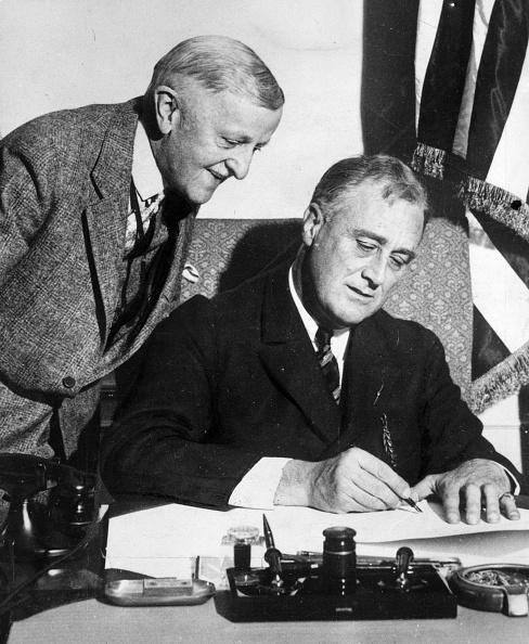 Franklin Roosevelt「Financial Control」:写真・画像(17)[壁紙.com]