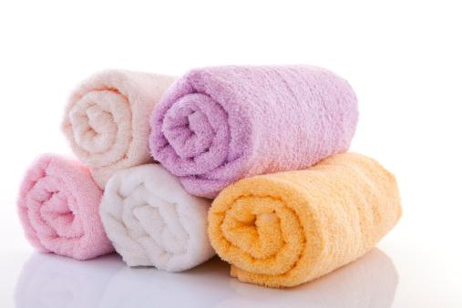 Pastel「Rolled Up Bath Towels」:スマホ壁紙(2)