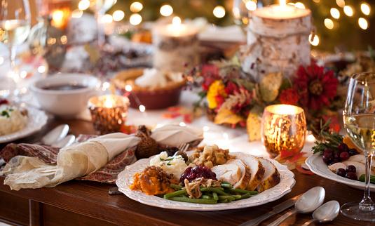 Thanksgiving「Thanksgiving Turkey Dinner」:スマホ壁紙(8)