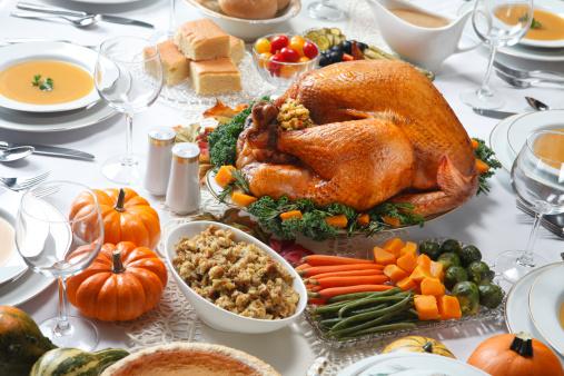 Thanksgiving「感謝祭ディナー」:スマホ壁紙(10)
