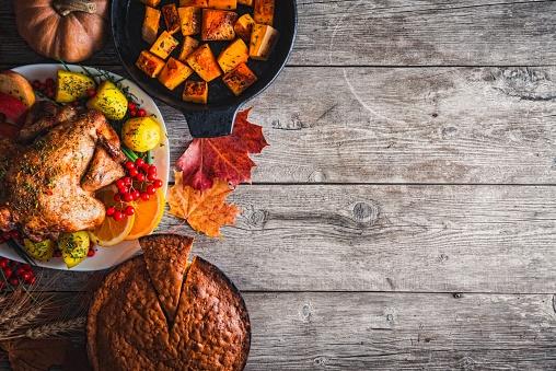 かえでの葉「感謝祭のディナー」:スマホ壁紙(6)